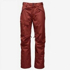 The-North-Face-Freedom-Insulated-Ski-Snowboard-Pants-Men-039-s-Brown-New-XL-140