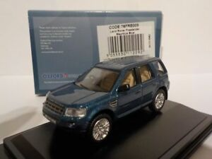 Land-Rover-Freelander-Blue-Model-Cars-Oxford-Diecast-1-76