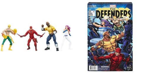 Amazon esclusiva SERIE Marvel leggende I DIFENSORI Figura 4-Pack