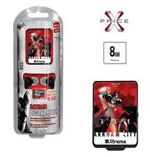 Lettore MP3 8GB XTREME -BATMAN ARKHAM2 - MINI USB SLOT CARD AURICOLARI JACK 3,5