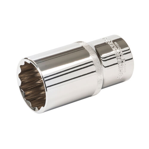 "DEEP 30mm Socket Driver –12 Point ½"" Ratchet Spanner Bit–Steel Square Drive Tool"