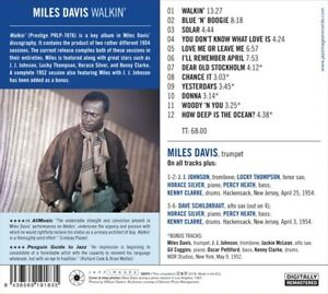 Miles-Davis-Walkin-039-CD-NEUF