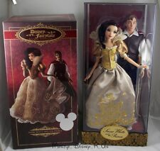 New Disney D23 Snow White and Prince Fairytale Couples Designer Doll LE# 200/600