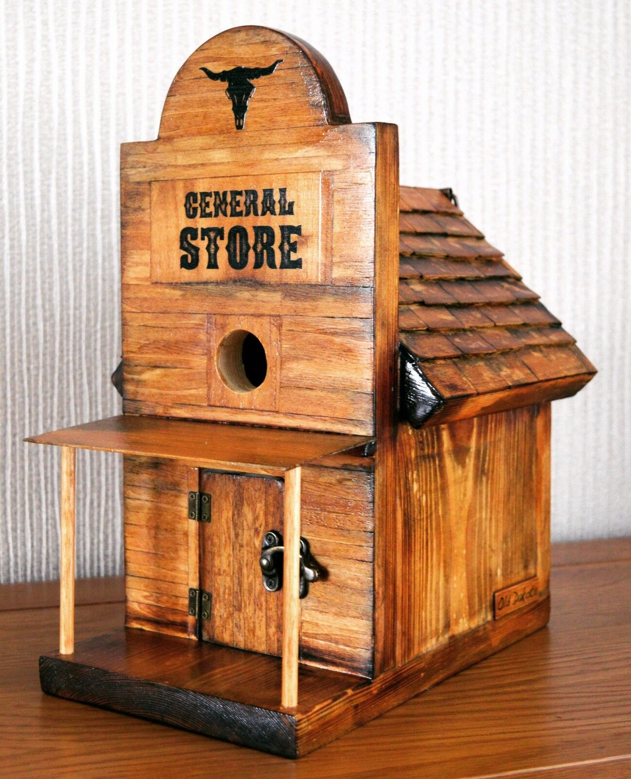 Western Style Americana Birdhouse By Old Dakota. General Store. American Lime 5