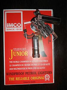 Details about box of 12 vintage lighter IMCO junior 6600