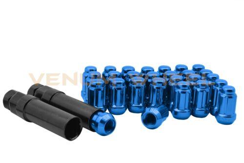 "Blue Spline Lug Nut Kit 1//2-20/"" Fits Jeep Wrangler JK Liberty Grand Cherokee"