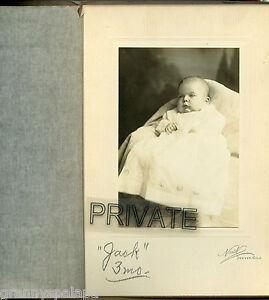 1916 Photo in Folder-ALLEN Family, (John Jones Allan), B) May 27,1916-Cute BABY