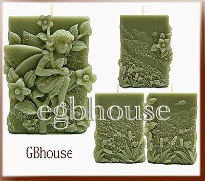 3D Silicone Candle Mold - Savannah: Fairy of Grasslands