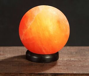 How Do Salt Lamps Ionize : New Himalayan Classic Healthy Ionized Crystal Rock Globe Shape Salt Lamp eBay