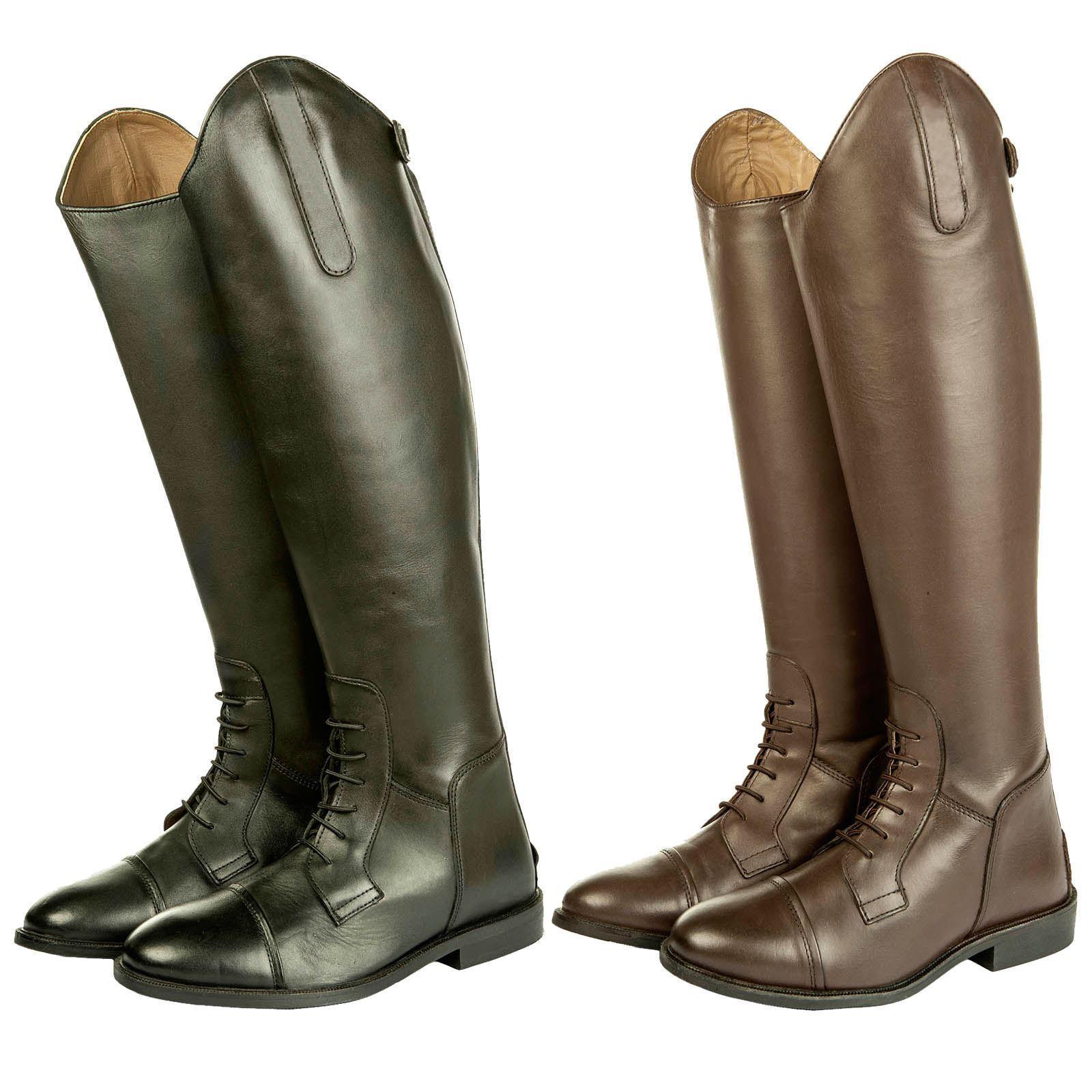 HKM Erwachsene Spanien Soft Leather Slim Standard Long Horse Riding Stiefel