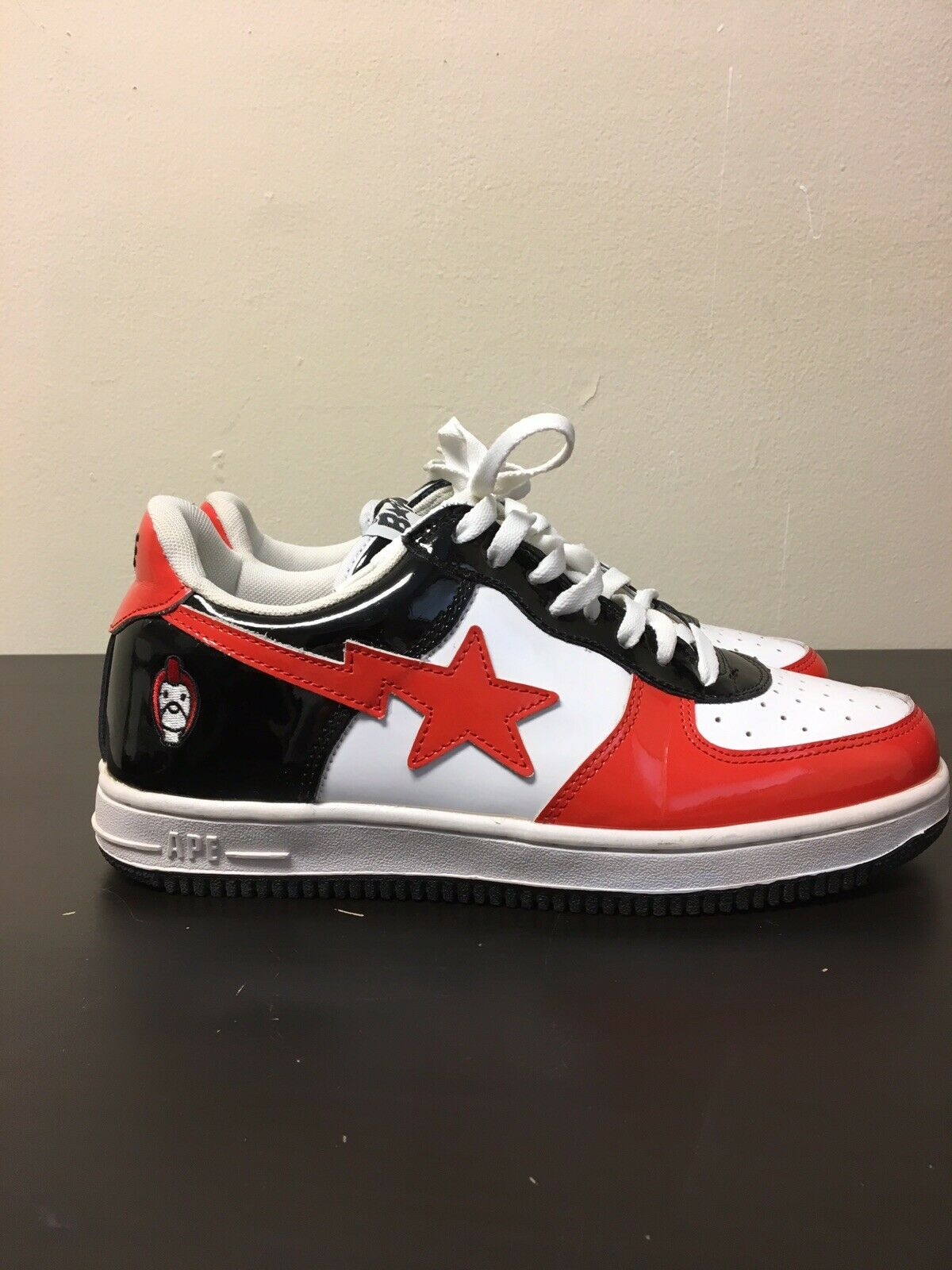 Un Bathing Ape Bapesta Milo Sz 10.5 0612 FS 001 General