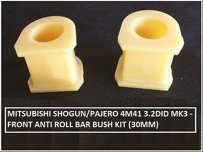 FOR MITSUBISHI SHOGUN//PAJERO MKIII 2000-2006  FRONT ANTI ROLL BAR D BUSH L//R X2