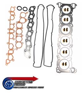 Complete-Genuine-Nissan-Head-Gasket-Set-For-R32-GTS-T-RB20DET-Skyline