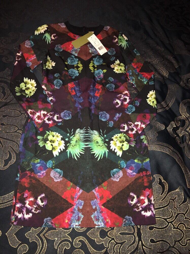 NWT  Nicole Miller Artelier  Dress 4 Floral