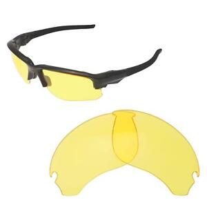 7d03b27f2d Image is loading Walleva-Yellow-Non-Polarized-Replacement-Lenses-For-Oakley-