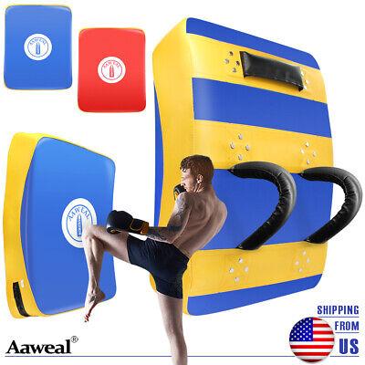 Kickboxing Kick pad Farabi Sports Thai pad Kick Training Strike Shield MMA Muay Thai Curved X 1