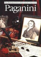 Paganini (Illustrated Lives of the Great Composers Series)-ExLibrary