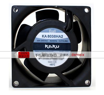 For KAKU KA1725HA2 Ball bearing waterproof fan220-240VAC 0.27//0.23A 172*150*51MM