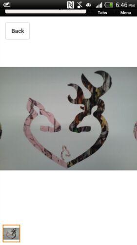car// truck// Camo Heart Pink With a Little Girl Vinyl Sticker Decal //window
