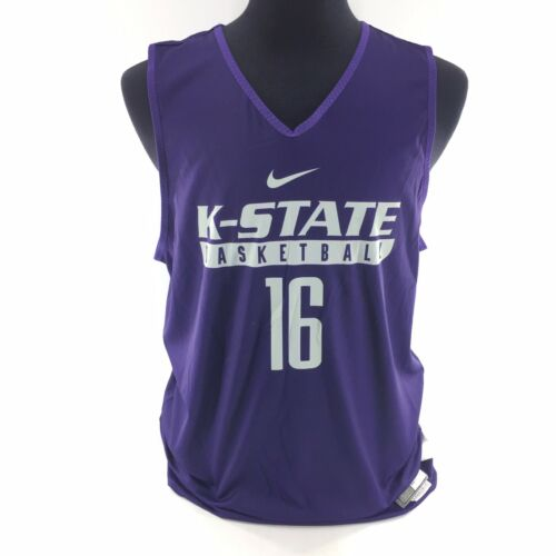 2e New Team Sz Large Nike state reversible Wildcats de Purple Camiseta K baloncesto wFqH7n7