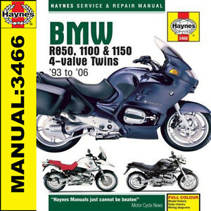 BMW-R1150R-R1150-Rockster-R1150GS-Adventurer-2001-2006-Haynes-Manual-3466-NEW
