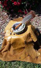 Abalone Shell California White Sage Smudge Stick & Feather Kit Shaman Smudging
