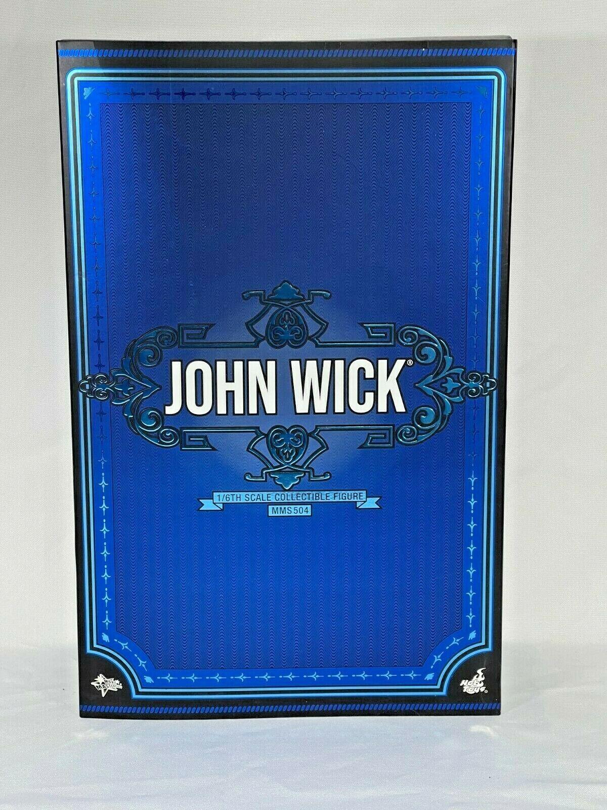 Hot Toys John Wick 2 John Wick NEW WITH ART BOX  MMS504  on eBay thumbnail