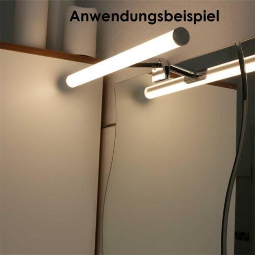 Spiegel-Schrankleuchte Wandleuchte 6W Spiegelleuchte Bilderleuchte LED warmweiß
