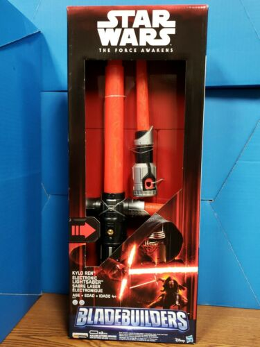Star Wars The Force Réveille Kylo Ren Deluxe Electronic Sabre Laser Hasbro Chop