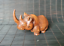 thumbnail 5 - Chinese Natural Boxwood Hand carved Exquisite Rhinoceros Statue