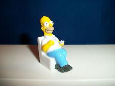 SIMPSONS Set of 8 Plastic Figures on Couch ITALIAN Surpris Egg Premium Figurines