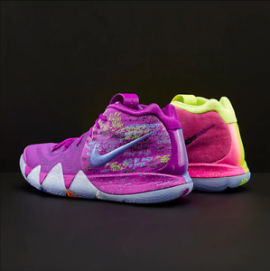 buy popular d19b6 79933 Image is loading Nike-Kyrie-4-PreHeat-Confetti-Multicolor-Size-13-