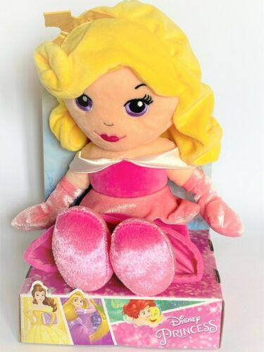 BRAND NEW 25CM DISNEY PRINCESS RAG DOLL LICENCED SOFT TOY BOXED 10/""