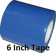 "Boat Shrink Wrap Tape 6 Inch 6/"" X 180/' Blue Shrink Wrap Tape Heat Shrink Tape"