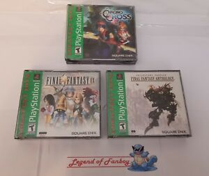 New-Final-Fantasy-Anthology-IX-Chrono-Cross-PlayStation-1-ps1-lot-V-VI