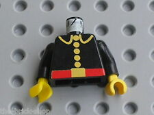 Buste minifig personnage pompier LEGO Torso Fire Fighter 973p21 / 6389 6307 6366