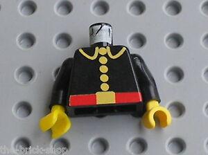 Buste-minifig-personnage-pompier-LEGO-Torso-Fire-Fighter-973p21-6389-6307-6366