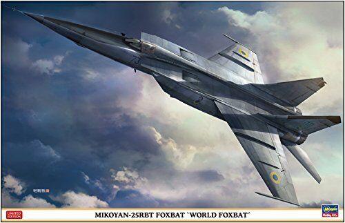 HASEGAWA 07471 MIG-25RBT FOXBAT 'WORLD FOXBAT' 1 48 SCALE KIT