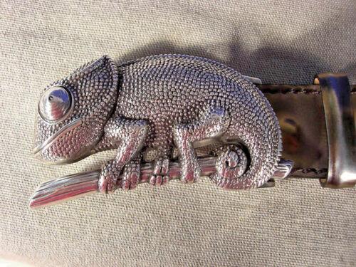 Original Schließe Schnalle v Reptile/'s House Wechselgürtel  neu silber neu AW01