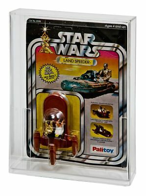 GW Acrylic MOC Carded Figure Display Case Star Wars Deep Depth Bubble