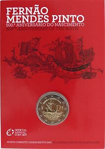 2 Euro Commémorative de Portugal 2011 Brillant Universel (BU) - Mendes Pinto