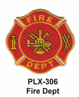 Fire Dept Patches 4