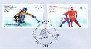 Rfa 2010: Jeux Olympiques Handicapés + Jeux Olympiques Sport Aide Nr 2781+2782! 1a 1609-afficher Le Titre D'origine
