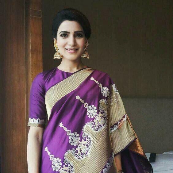 Soft silk copper weaving Indian wedding party formal saree ethnic Pakistani Sari