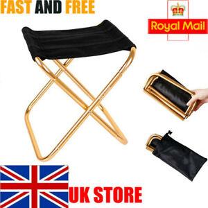Mini Portable Folding Chair Outdoor Fishing Camping Picnic Travel Beach Stool