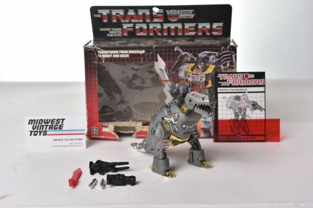 Vintage G1 Transformers DINOBOTS GRIMLOCK - HASBRO