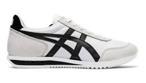 Onitsuka Tiger NEW YORK Baskets Noir Blanc Asics Cuir 1183A205 - 101