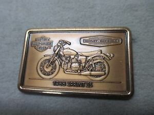 HARLEY-DAVIDSON-MOTOR-CYCLES-BRASS-BAR-1968-SPRINT-SS