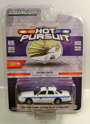 1995 /'95 CROWN VICTORIA CHICAGO ILLINOIS POLICE HOT PURSUIT 36 GREENLIGHT 2020