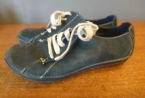 Originals Chaussures Womens daim taille Retro bleues Hommes lacets Casual en Clarks 5 5 à wOPXnk08